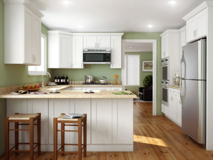Express Yourself with White Kitchen Cabinets & White Kitchen Cabinets | Cheap White Kitchen Cabinets :: Stock ...